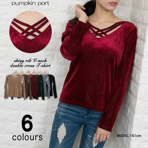 V-neck Closs Pullover