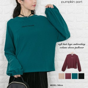 soft Knitted Embroidery Pullover