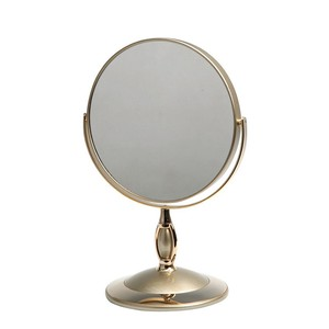 Stand Alone Mirror Short Mirror Silver Gold White Mirror