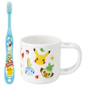 Stand Cup Toothbrush Set Pocket Monster