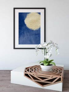 Design Poster Scandinavia Modern Watercolor Antique