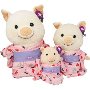 Soft Toys/Dolls Costume Yukata Pink [2020 New Arrival]