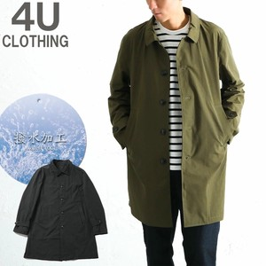 Stand-fall Collar Coat Water-Repellent Color