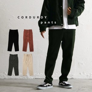 CORDUROY Pants Men's A/W Tapered Pants