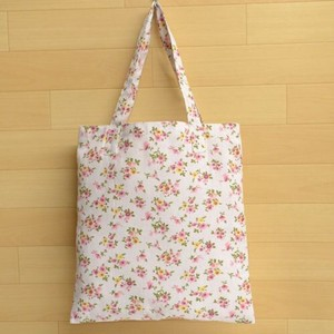 Floral Pattern Eco Bag Pocket