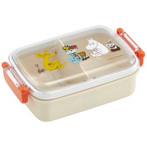 Wash In The Dishwasher Lunch Box Square Shape The Moomins Color