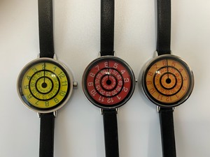 Retro Rotary Di Clock/Watch