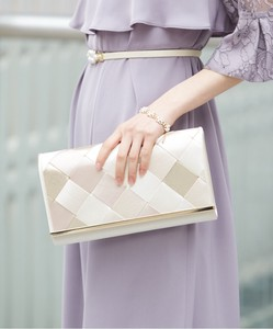 Included Clutch Bag