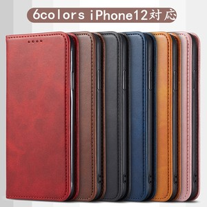 iPhone Case Notebook Type Case Smartphone iPhone Notebook Type Case 2Pcs set