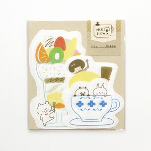 Coffee Die Cut Writing Papers & Envelope