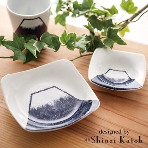 Mt. Fuji Mini Dish Cup Square Dish Each Type