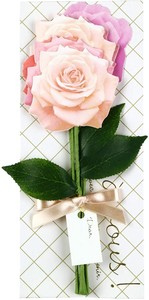 Message Gift Bouquet Rose