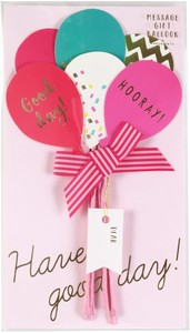 Message Gift Bouquet Balloon Color
