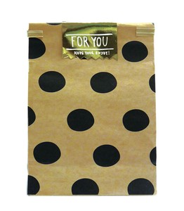 Paper Bag Black Dot