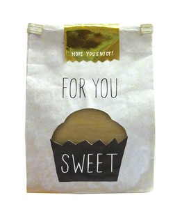 Window Paper Bag Cupcake