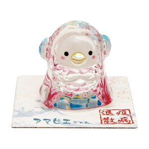 Crystal Ornaments Amabie-chan Japanese folk monster