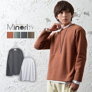 Mochi Mochi Mock Neck Long T-shirts