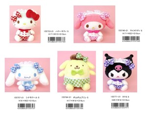 Sanrio Soft Toy Cafe Gingham