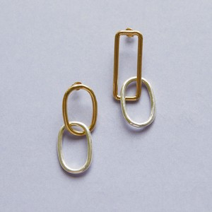 Pierced Earring Ring Chain