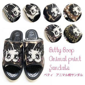 Original Betty Animal Sandal Beads Ladies Shoes Made in Japan