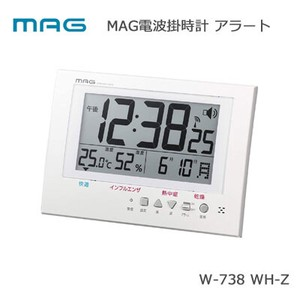Radio Waves Wall Clock Precision Unisex Temperature