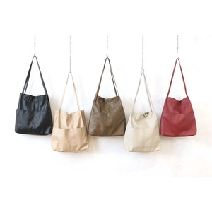 Washer Synthetic Leather Long Handle Tote