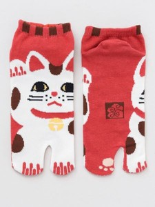 Beckoning cat Tabi Socks type Sock