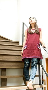 Knitted Pocket Sleeveless Tunic