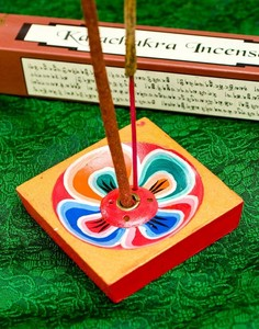 Flower India Nepal Incense stand 6cm