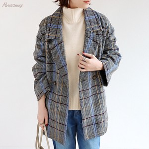 Che Fake Wool Double Short Coat