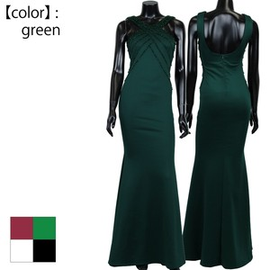 Size L Beads Color Long Dress