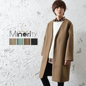 Non-colored Long Coat Mino