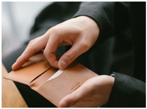<ペリンガー社製ノブレッサカーフ使用>カード名刺入 日本製