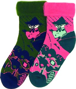 Fluffy Socks The Moomins Snufkin Moomin