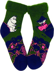 Fluffy Socks Men's The Moomins Snufkin Moomin