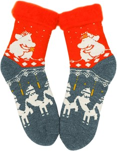 Fluffy Socks Men's The Moomins Flow