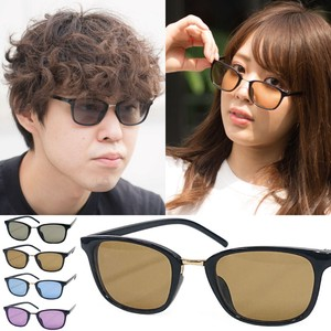 Square Frame Light Color Lens Sunglass