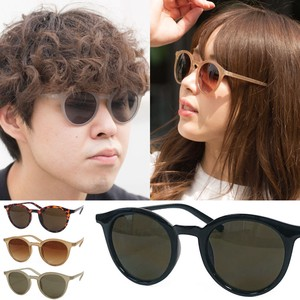 Boston Frame Milky Color Frame Sunglass