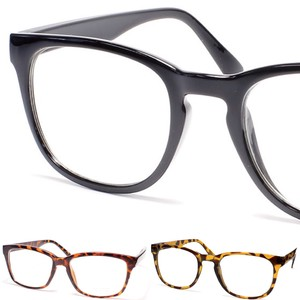 Larger Frame Clear Lens Eyeglass