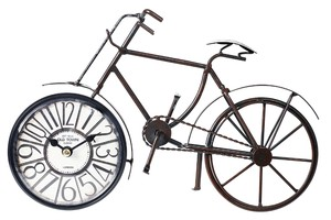 Stand Clock Bicycle