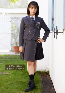 Model Graduate Formal Military Mono Tone Suit Set