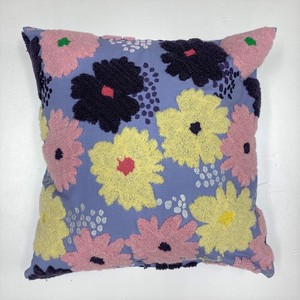 Plune Cushion Cover 3 Colors Flower Lavender Botanical Life