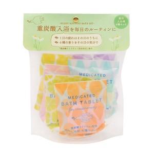 重炭酸バスタブレット6Pセット 6種の香り[医薬部外品]【発泡タイプの薬用入浴剤】