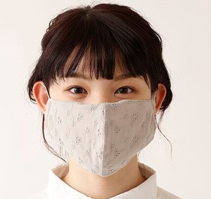 Droplets Prevention Sample Lace Fabric Standard 2 Pcs Mask