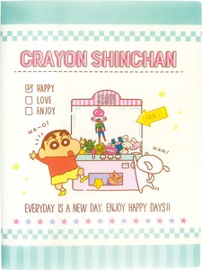 """Crayon Shin-chan"" Multi Plastic Folder Game"