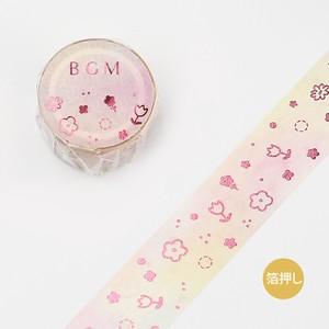 Washi Tape Light Pink Flower 20mm*5m