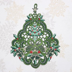 Christmas Embroidery Ornament Objects and Ornaments Ornament