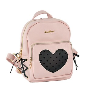 Heart Ribbon Backpack Girl Kids Bag