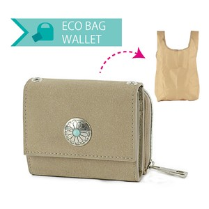 Eco Bag Trifold Wallet Wallet Ladies Wallet