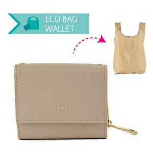 Eco Bag Trifold Wallet Wallet Cynthia Ladies Wallet